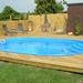 Kunststoff schwimmbecken